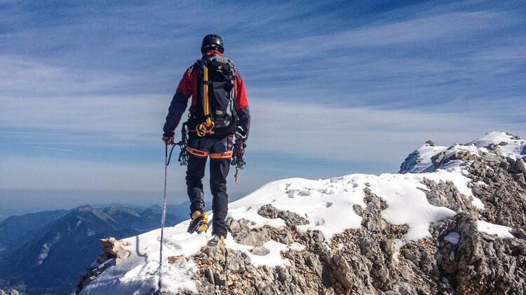 Bergwanderfuehrer Dirk Schulte Auf Hochtour