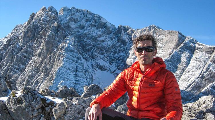 Bergwanderfuehrer Jens Badura Auf Tour In Berchtesgaden