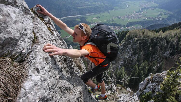Bergwanderfuehrer Michael Schneider Am Watzmann