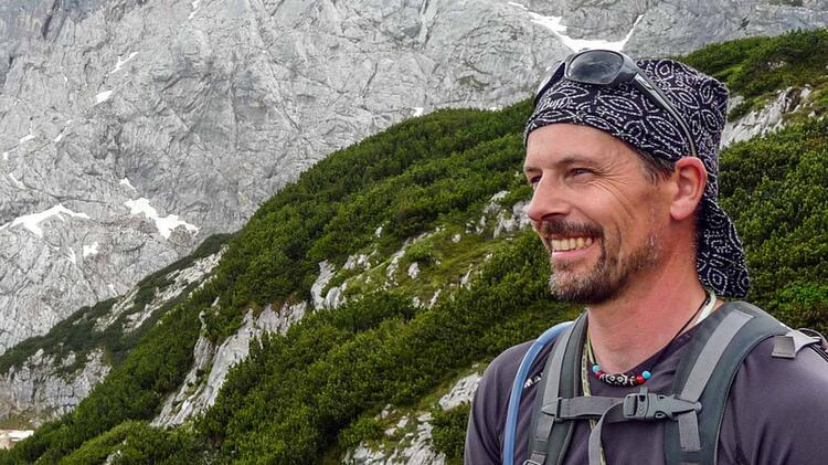 Bergwanderfuehrer Ralph Hofmann Auf Der Watzmanntour