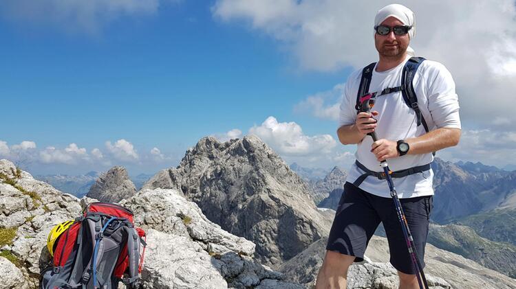 Bergwanderfuerher Achim Heib Auf Der Alpenu Berquerung E5