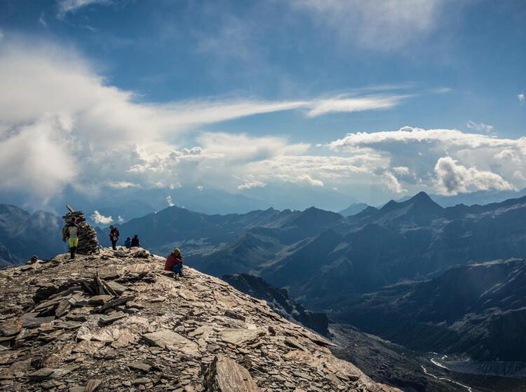 Bergwandern Im Wallis