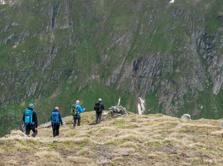 Bergwandern In Den Hohen Tauern