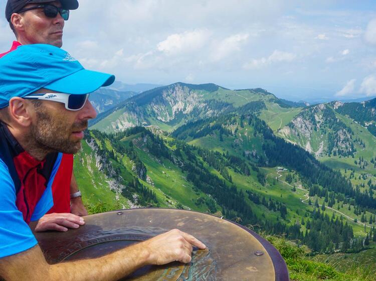 Bergwandern Zur Rotwand Am Spitzingsee