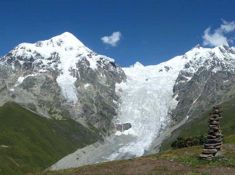 Bergwelt Des Adishigletscher