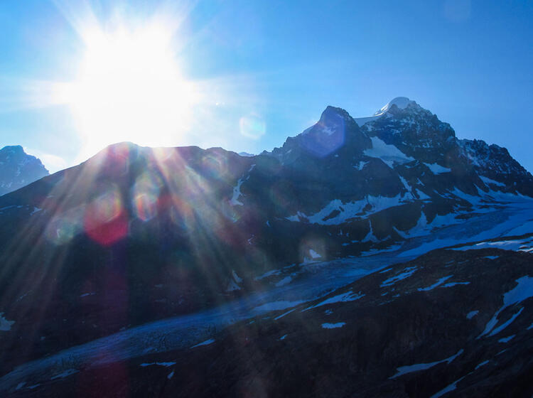 Bernina Trekking Wandern Von Huette Zu Huette