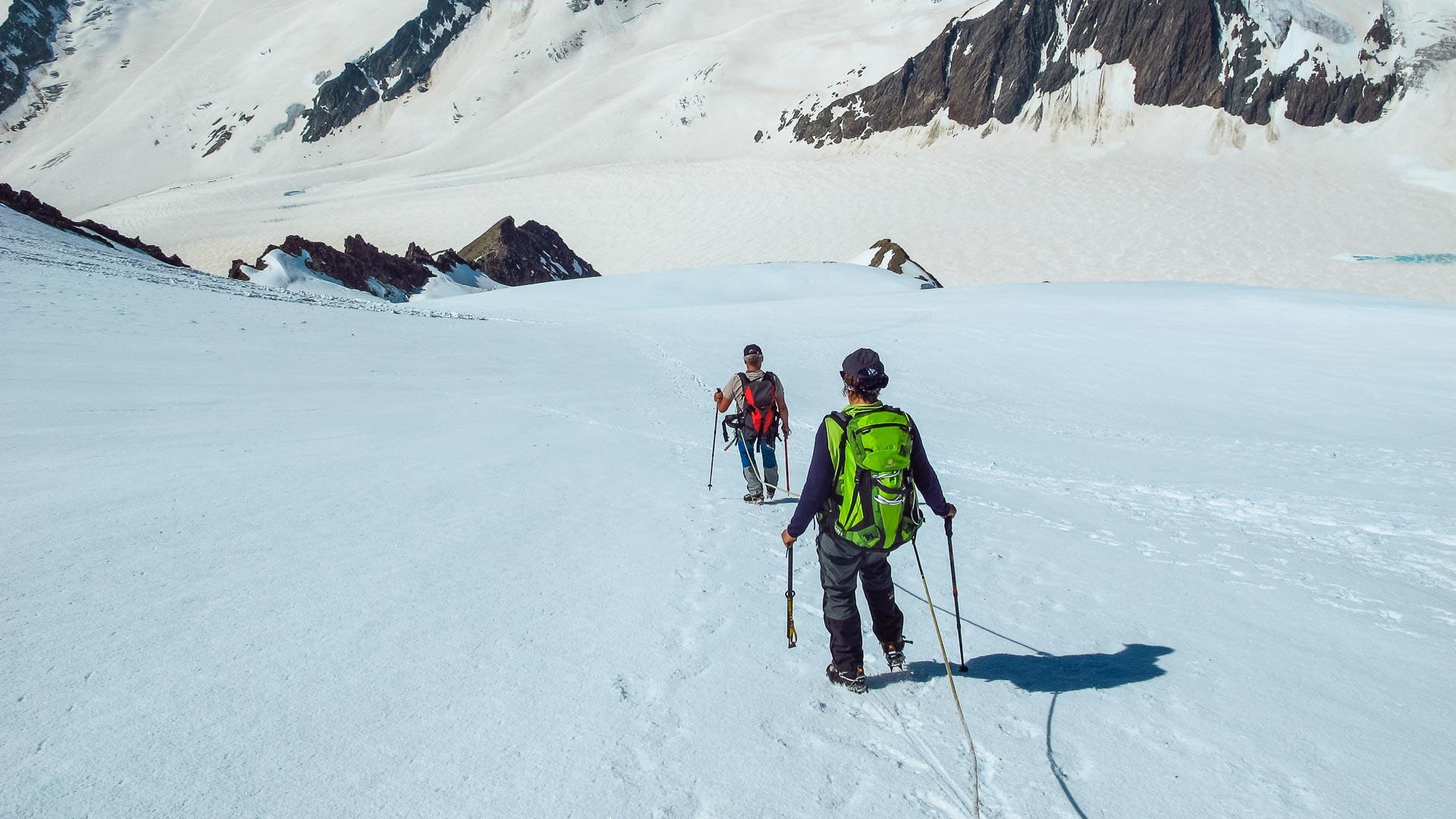 Besteigung des Ortler mit Bergfuehrer