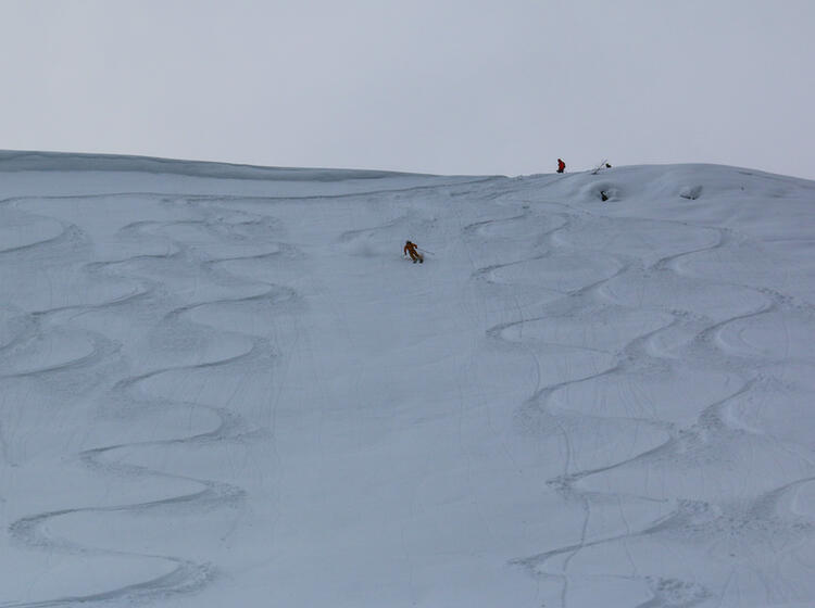 Bester Schnee In Sibirien Bei Den Skitouren Im Dezember