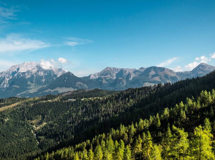 Blick Ins Berchtesgadener Land Vom Watzmann Haus