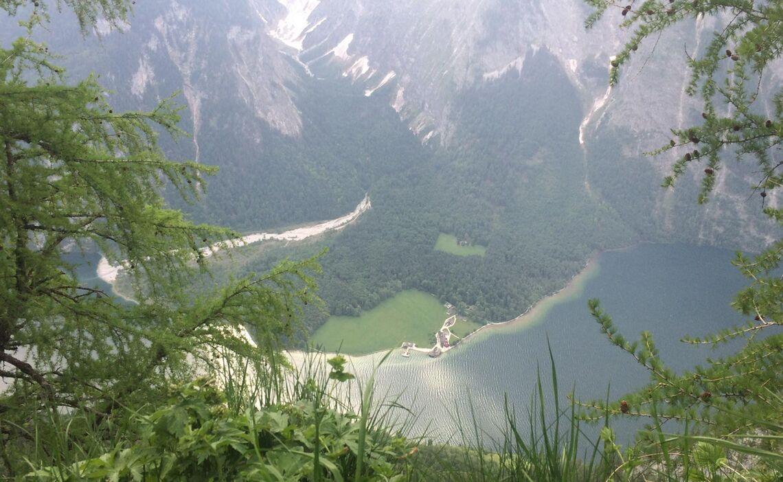 Blick Von Der Gotzenalm Auf Den Koenigssee