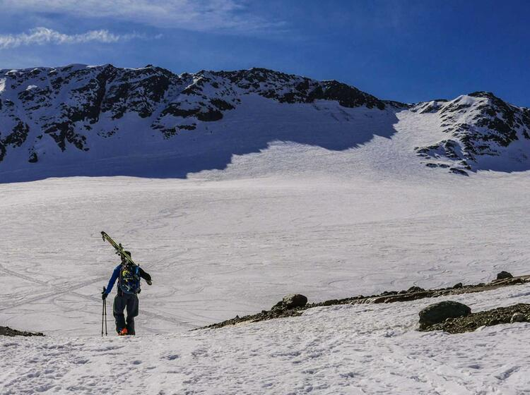 Cevedale Skitouren Fuehrung
