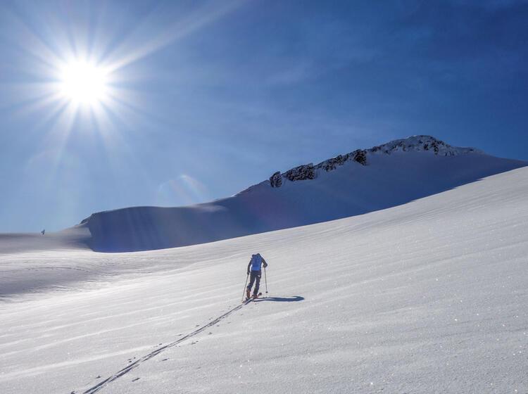 Chile Skitourengehen An Den Vulkanen