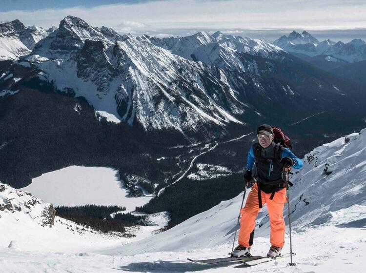 Christoph Hummel Auf Skitour In Kanada