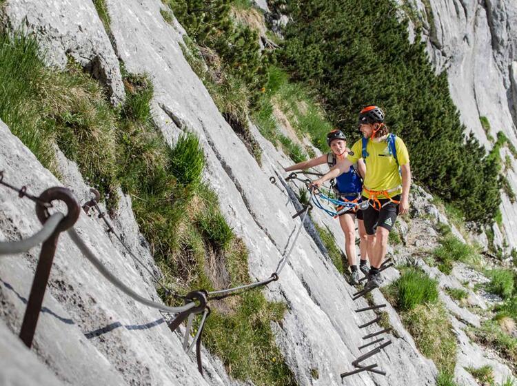 Das Brett Ist Die Erste Schwierigkeit Auf Dem Weg Zur Zugspitze