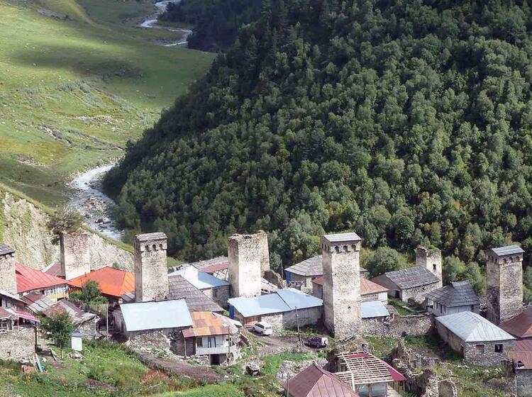 Das Kleine Dorf Adishi