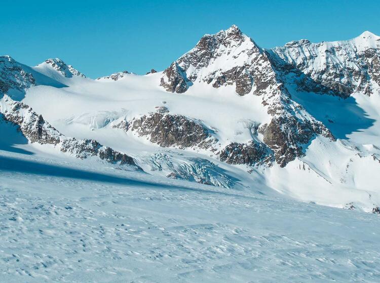 Das Silvrettahorn In Der Silvretta