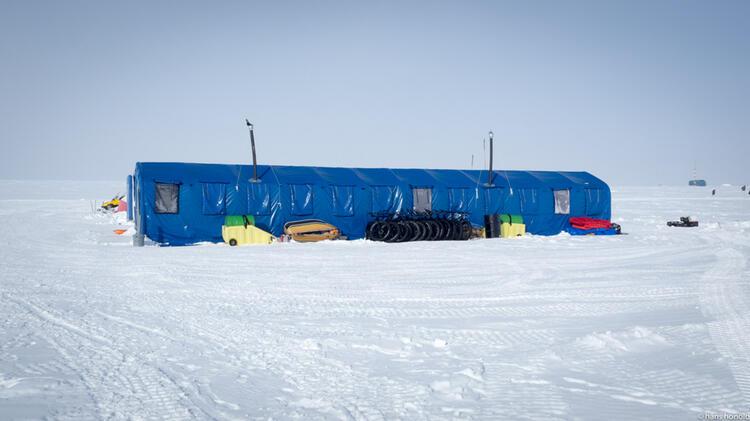 Das South Pole Camp