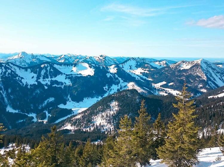 Das Spitzingsee Gebiet Ideal Fu R Schneeschuhtouren