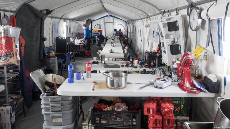 Das Su Dpol Camp Von Innen