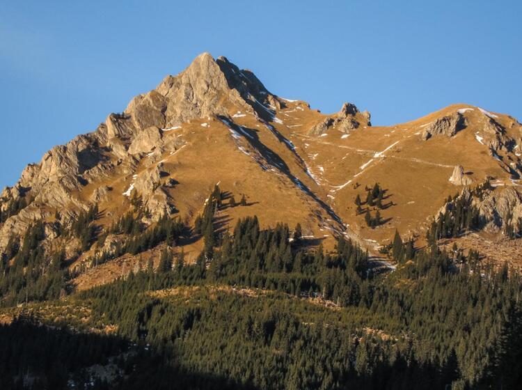 Der Aggenstein Beim Wandern Im Tannheimer Tal