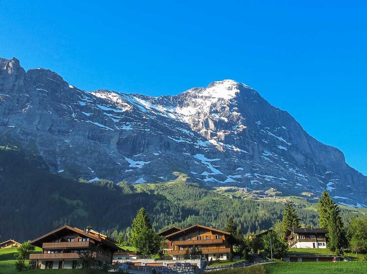 Der Eiger Und Die Nordwand Geshen Von Grindelwald