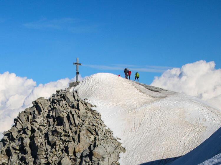 Der Gipfel Des Grossvenediger