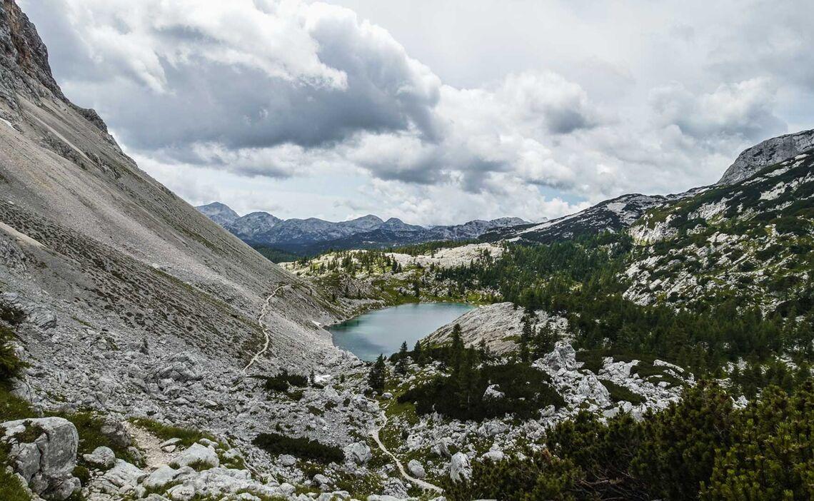 Der Nierensee Im Sieben Seen Tal