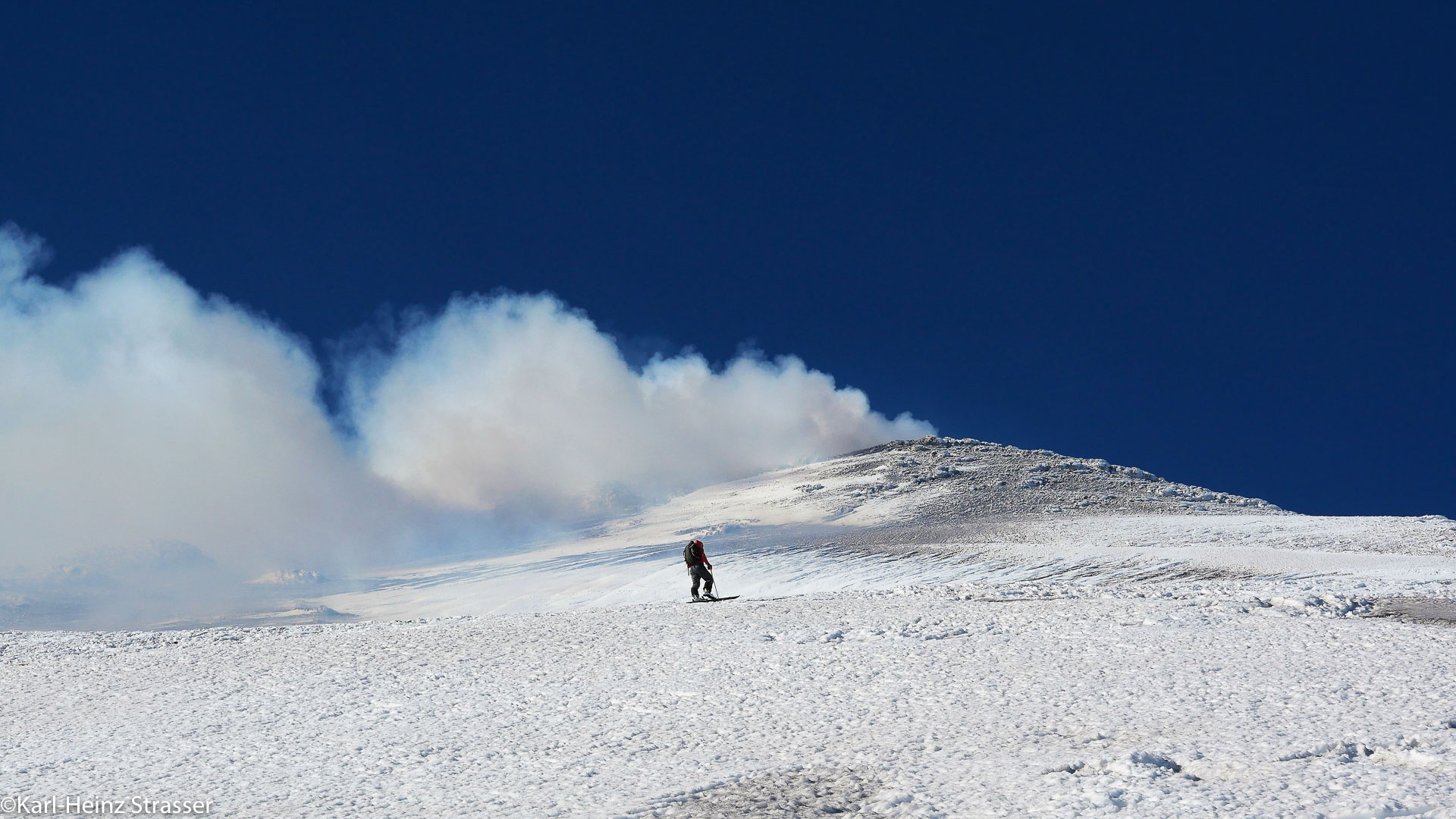 Der Vulkan Zürnt