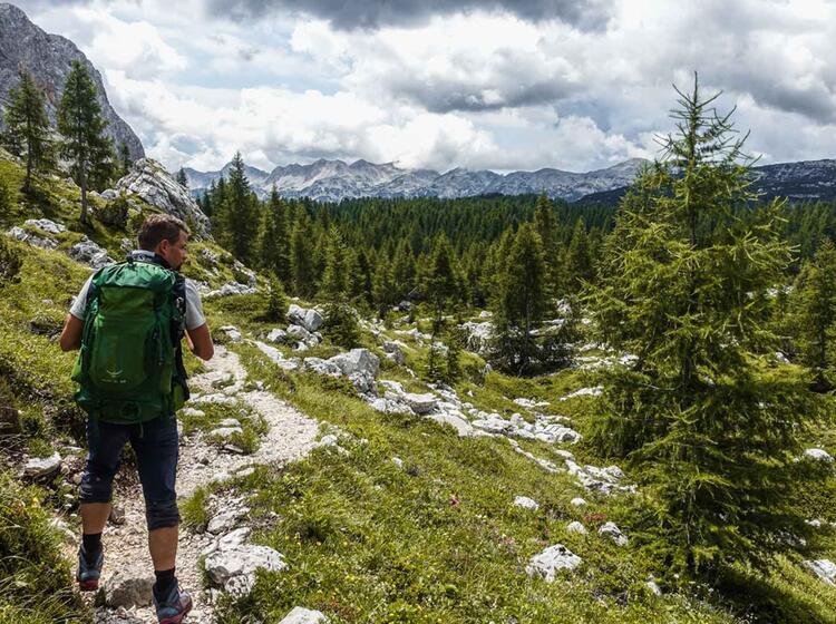 Der Weitere Weg Durchs Sieben Seen Tal