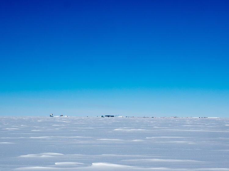 Die Amundsen Scott Station Am Su Dpol