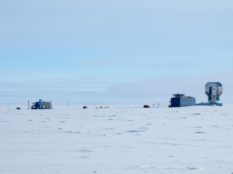 Die Amundsen Scott Su Dpol Station Forschungseinrichtungen