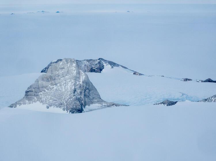 Die Berge Um Patriot Hills