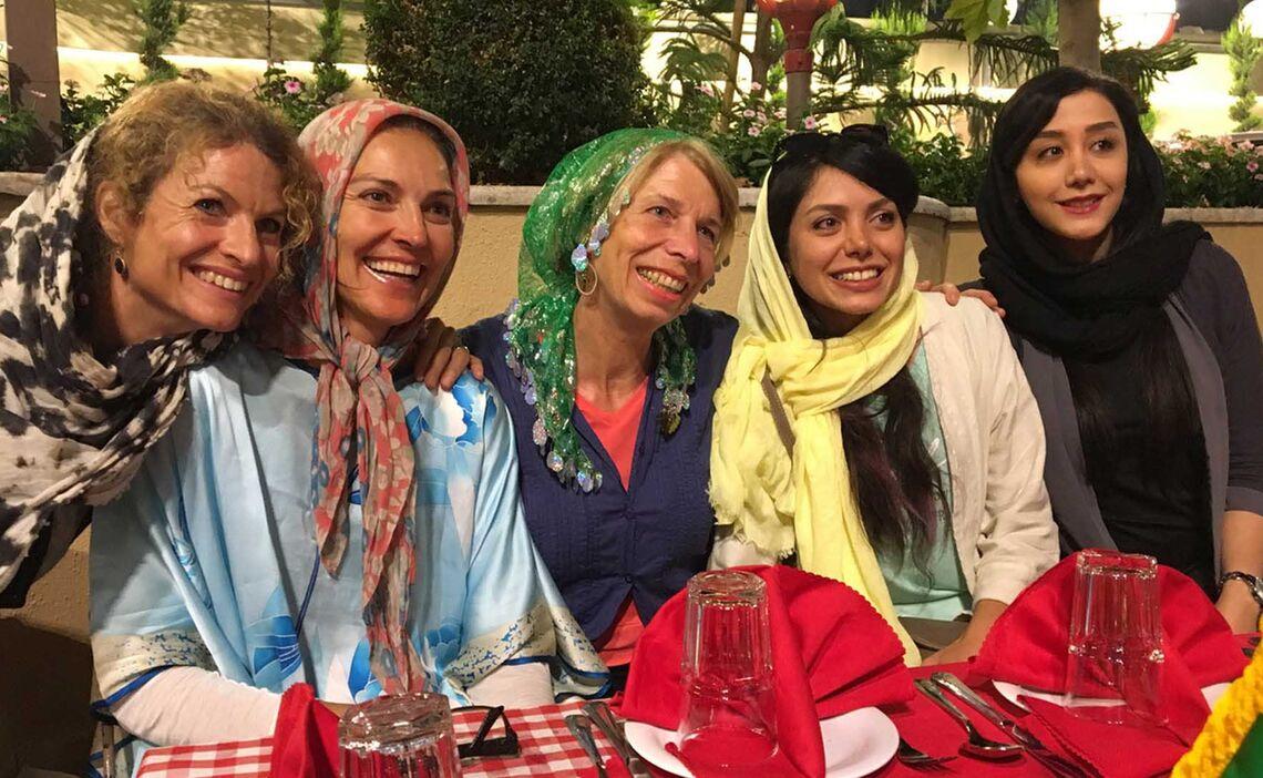 Die Damen Im Iran