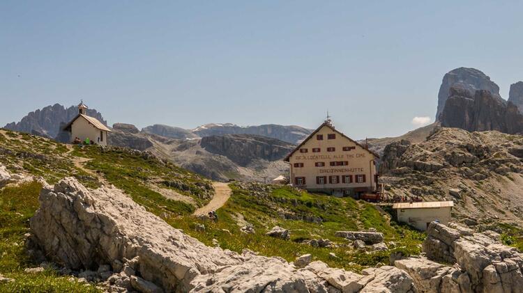 Die Dreizinnen Huette Als Ende Der Alpenueberquerung