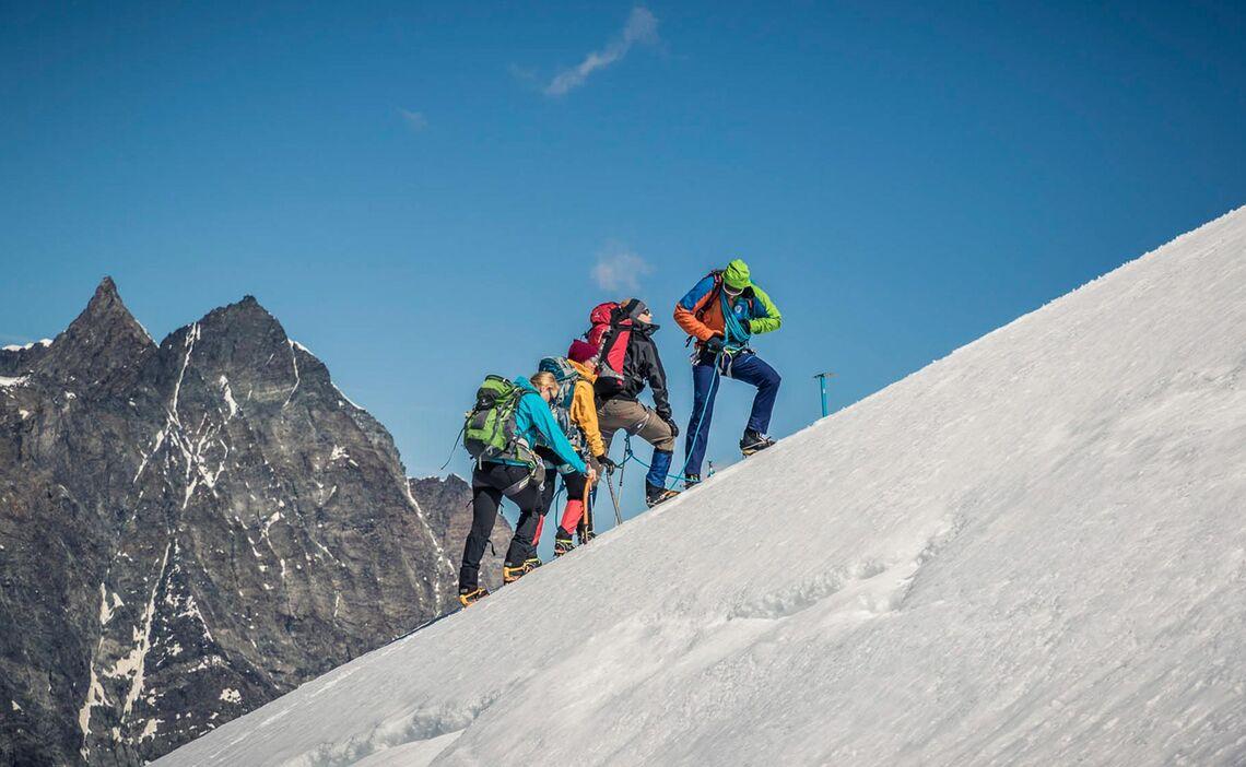 Die Grossen 4000er Im Wallis Mit Der Alpinschule