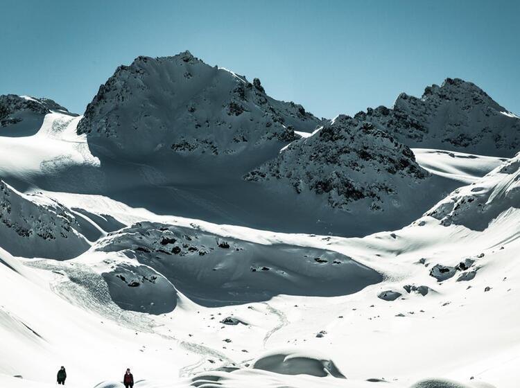 Die Hintere Jamspitze In Der Silvretta Traumabfahrten Zur Jamtalhu Tte