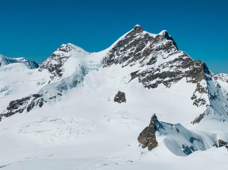 Die Junfrau Im Berner Oberland Oberhalb Von Grindelwald