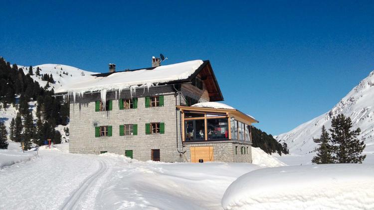 Die Oberseehu Tte Am Stallersattel Fu R Skitouren