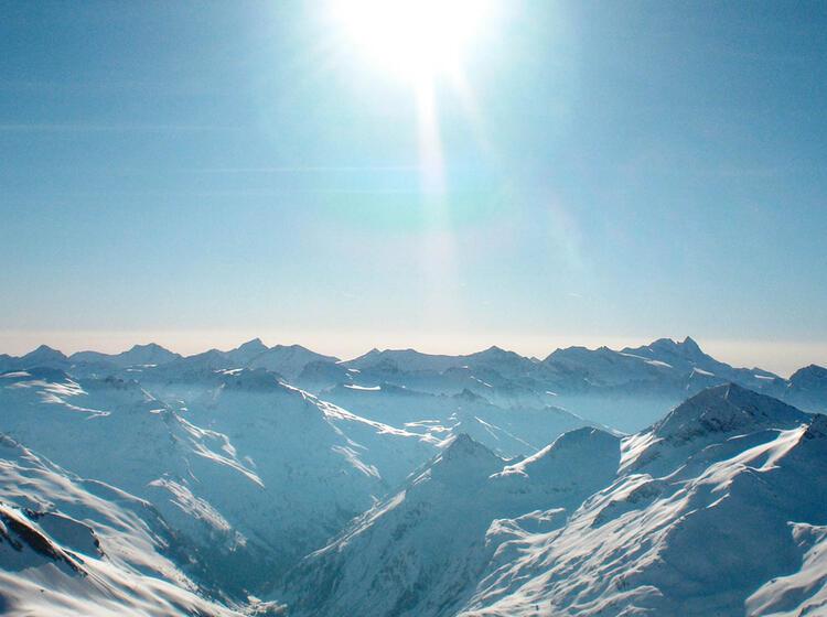 Die Skitour Hoch Tirol Mit Bergfuehrer