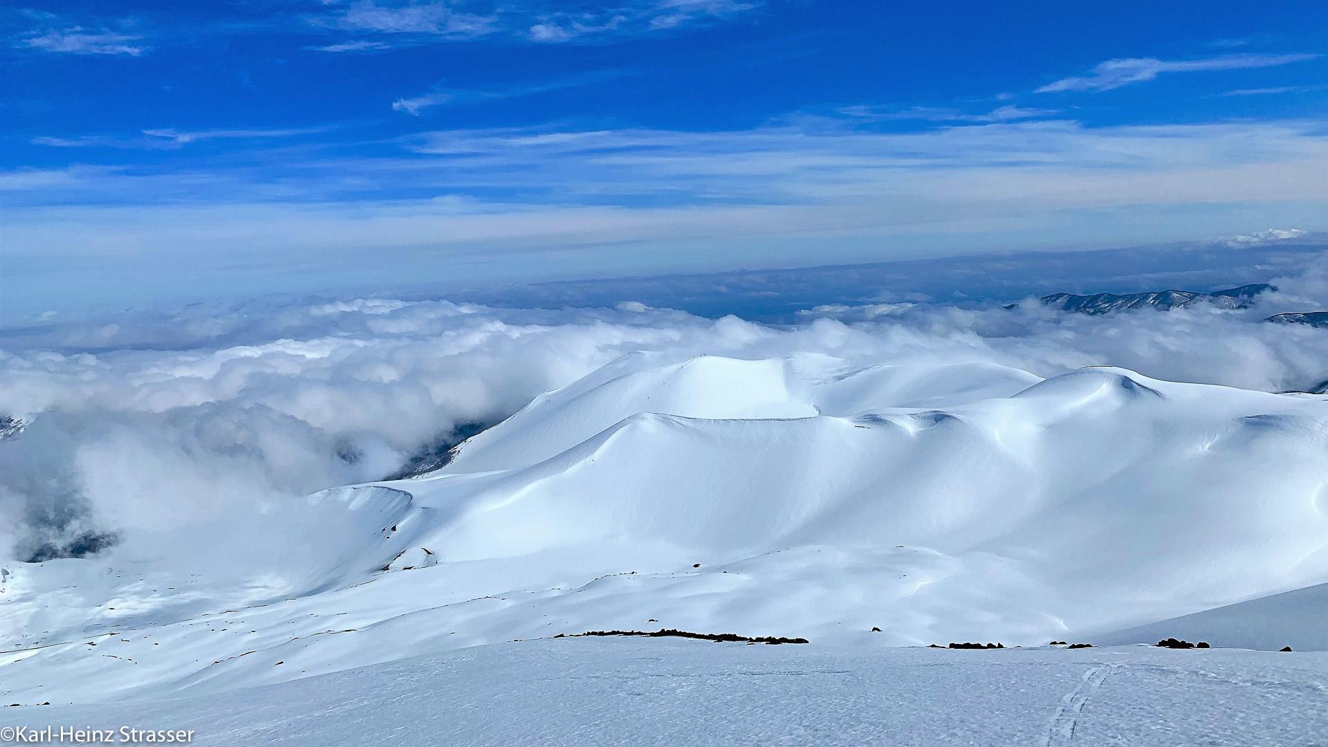Weite Skitourenhänge