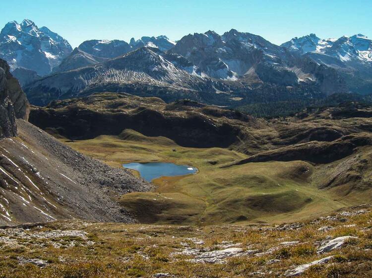 Dolomiten Durchquerung Wanderung In Der Fanes