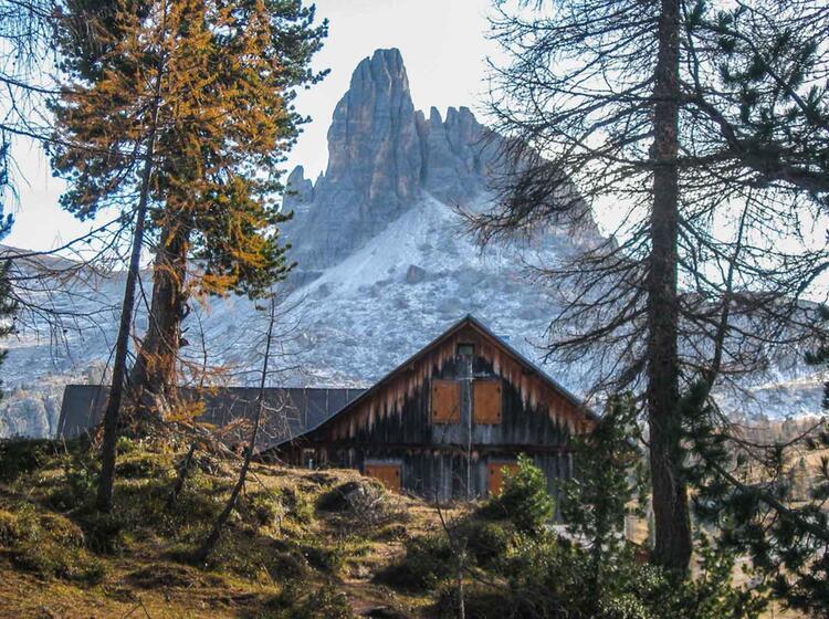 Dolomiten Wanderung Von Huette Zu Huette