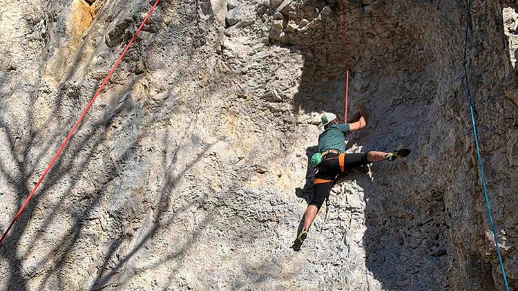 Donautal Kletterkurs Toprope