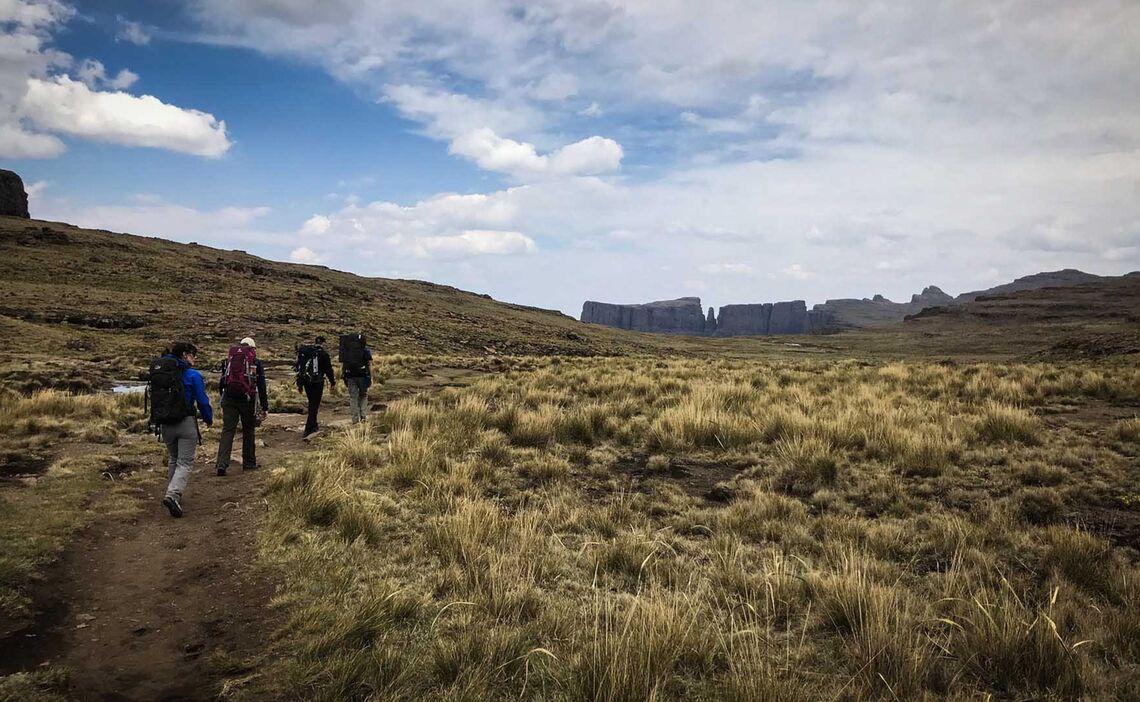 Drakensberge Hiking Plateau