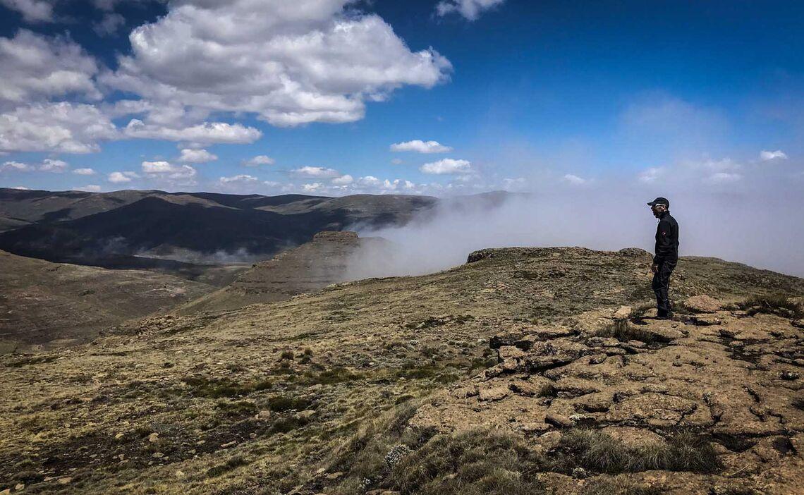 Drakensberge Plateau Ausblick