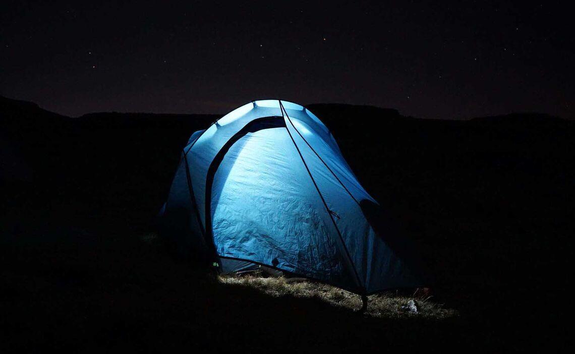 Drakensberge Zelt Beleuchtet
