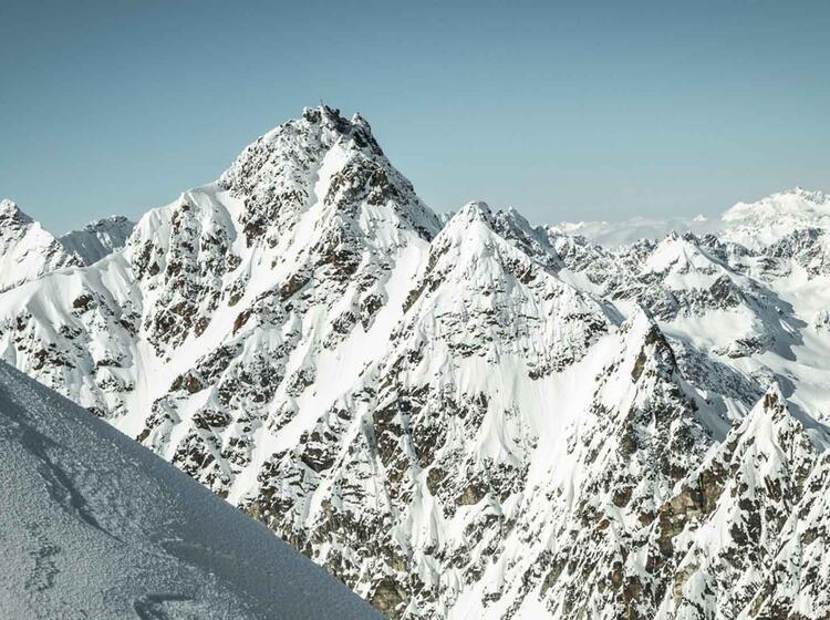 Dreila Nderspitze Auf Skihochtour