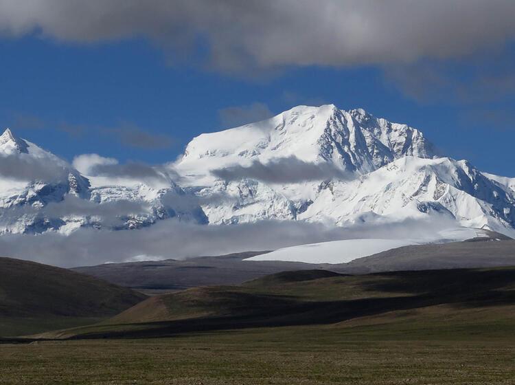 Eindrucksvolles Tibet Mit Vielen 8000ern