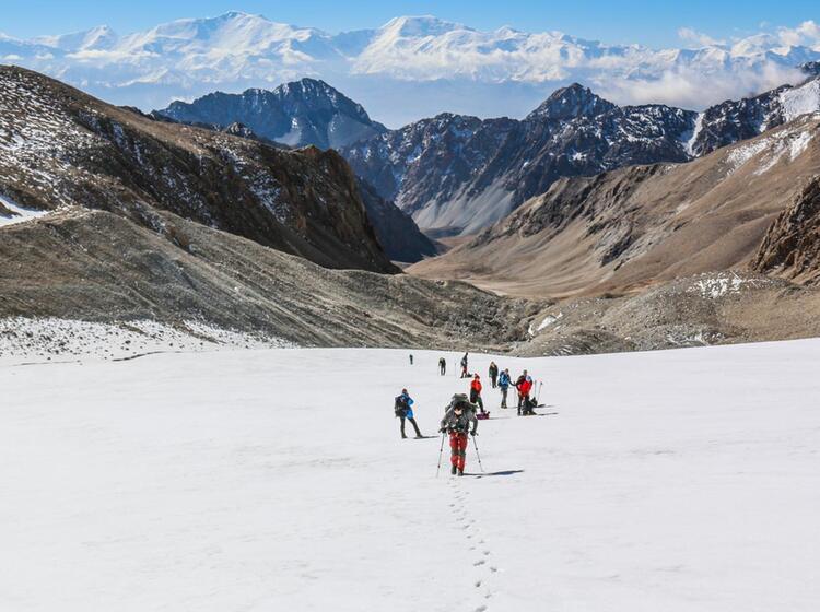 Eindrucksvolles Trekking In Kirgistan Mit 5000m Gipfel Besteigungen