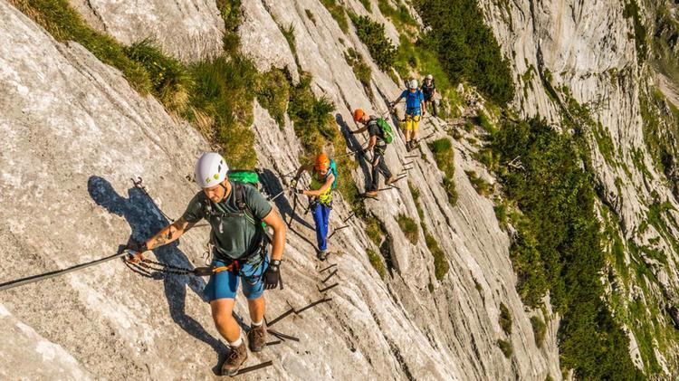 Einfacher Klettersteig Zur Zugspitze